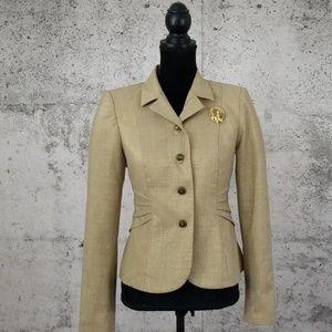 DAVID MEISTER Metallic Gold Jacket